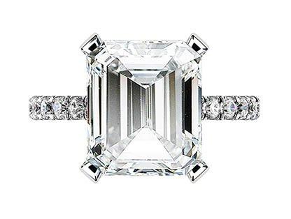 5Ct Emerald Cut Diamond Ring 2 2