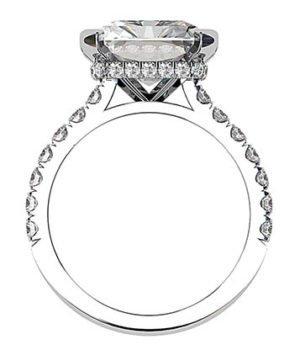 5Ct Emerald Cut Diamond Ring 3 2