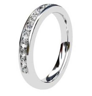 Channel Set Round Half Eternity Band 2