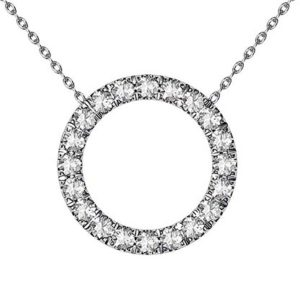 Circle of Diamonds Pendant 2 3