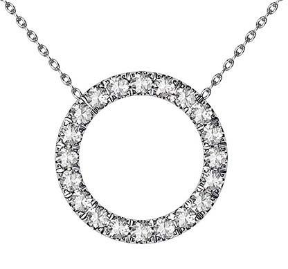 Circle of Diamonds Pendant 2 3