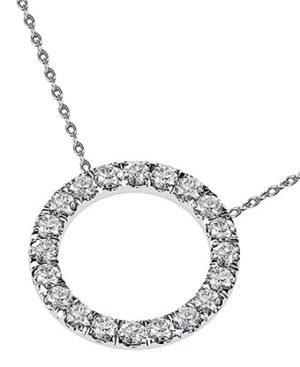 Circle of Diamonds Pendant 3 3