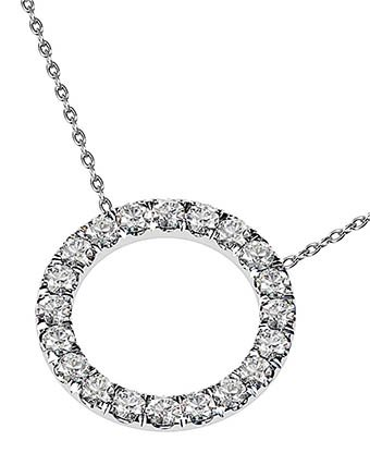 Circle of Diamonds Pendant 3 3