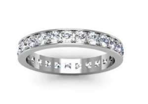 Classic Pave Set Diamond Eternity Band 2