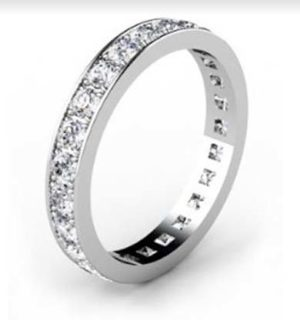 Classic Pave Set Diamond Eternity Band 4