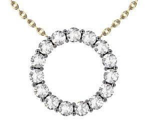 Claw Set Circle of Diamonds 2 2