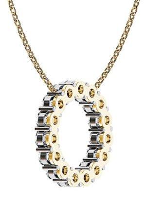 Claw Set Circle of Diamonds 3 2