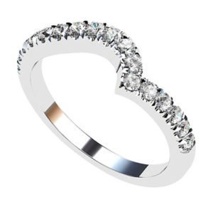 Fitted Cut Down Set Wedding Ring 3 2
