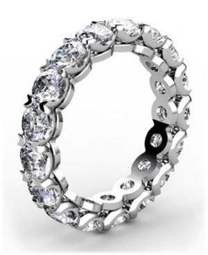 Heart Claw Set Wedding Ring 2 2