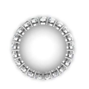 Round Brilliant Cut Diamond Eternity Band 3