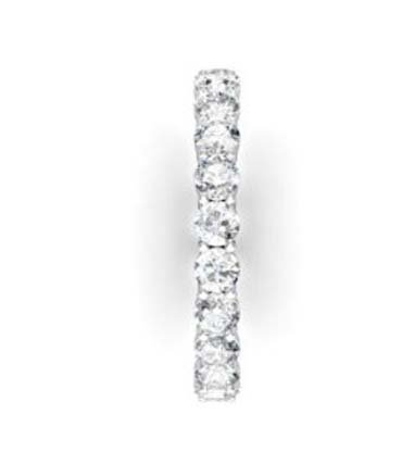Round Brilliant Cut Diamond Eternity Band 5