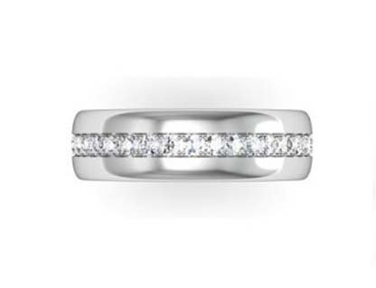 Round Cut Diamond Eternity Band 2