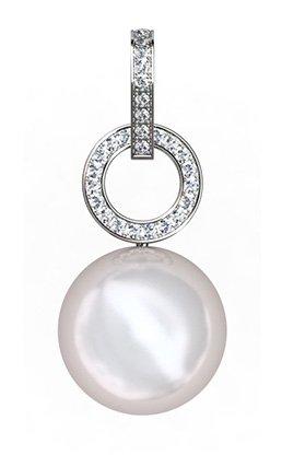 South Sea Pearl Pendant with Diamond Circle 2 2